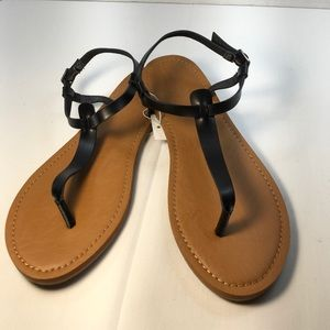 Universal Thread Black Sandals